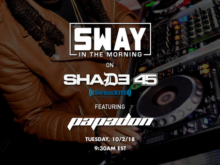 Catch Papadon on Sway in the Morning - Shade 45 XM