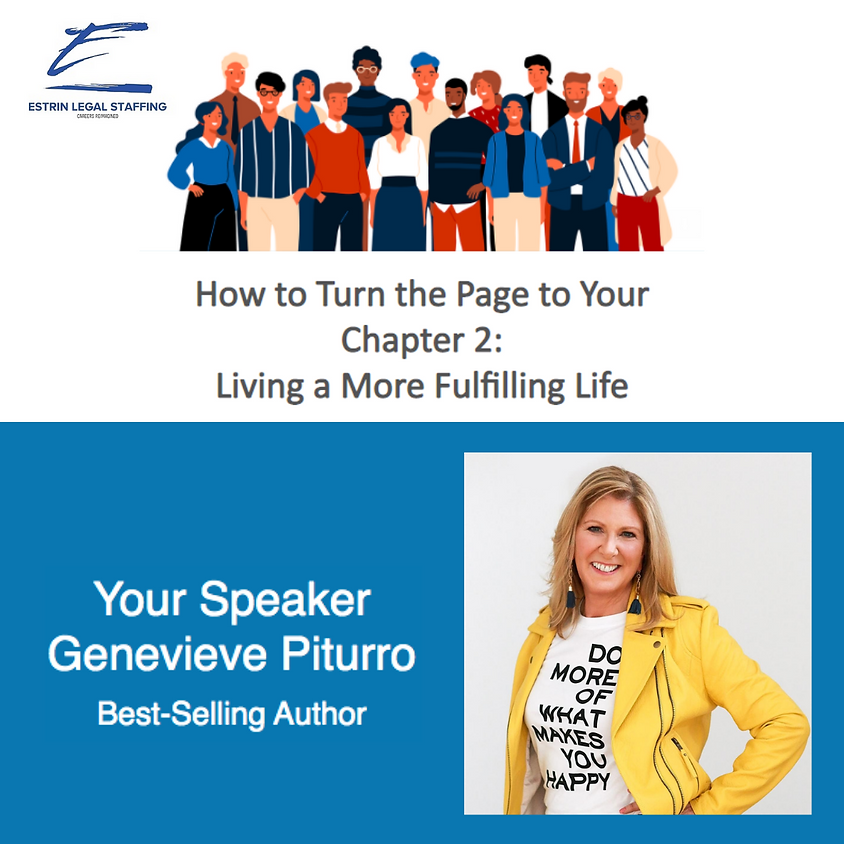 How to Turn the Page to Your Chapter 2: Living a More Fulfilling Life Webinar