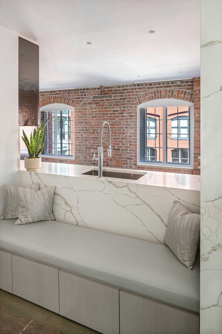Nitzan Design | Modern, Minimal Interior Design | New York City, NY | Sugar Warehouse Loft, Tribeca