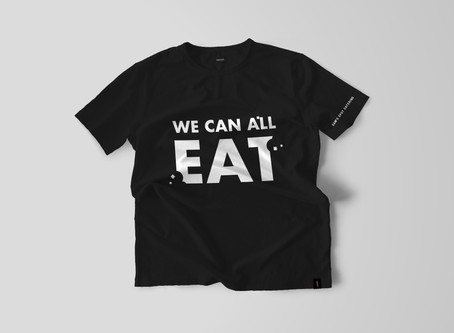 We Can All Eat T-Shirt Available for Pre-Order