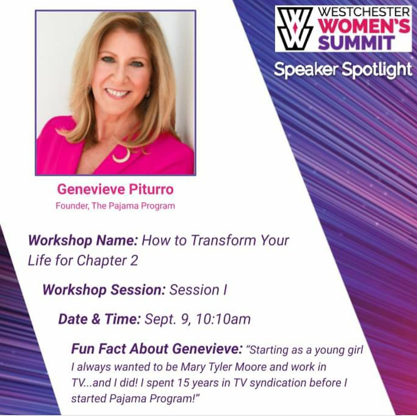 Westchester Women's Summit: How to Transform Your Life for Chapter 2