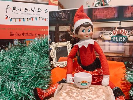 December 8th: Elf on The Shelf visits FRIENDS' Central Perk