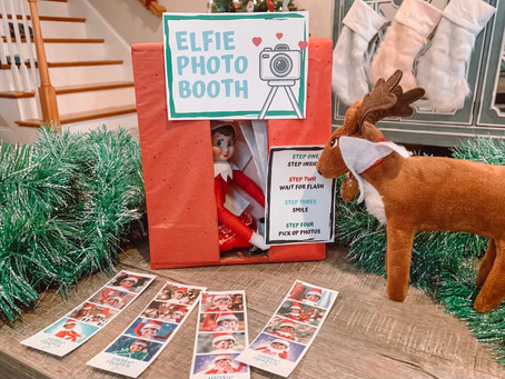 December 10th: Elf on the Shelf Photo Booth