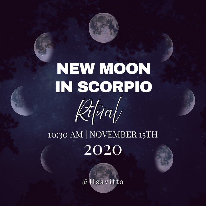 New Moon in Scorpio Ritual