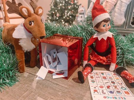 December 5th: Christmas BINGO with Elf on the Shelf