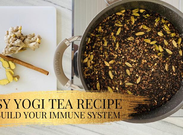 Easy Yogi Tea Recipe To Build Up Your Immune System | Enlightened Kitchen