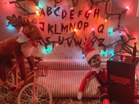 December 22nd: Elf on the Shelf meets Stranger Things