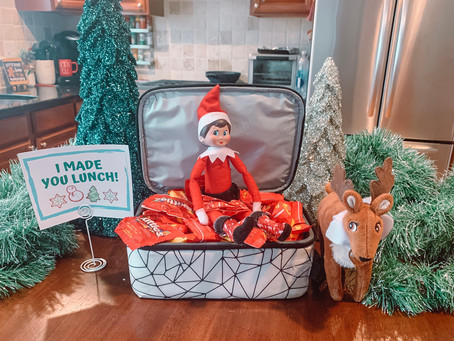 December 18th: Elf on the Shelf Makes Lunch