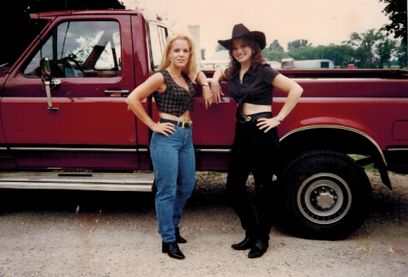 Staci Griesbach growing up in Hortonville, Wisconsin