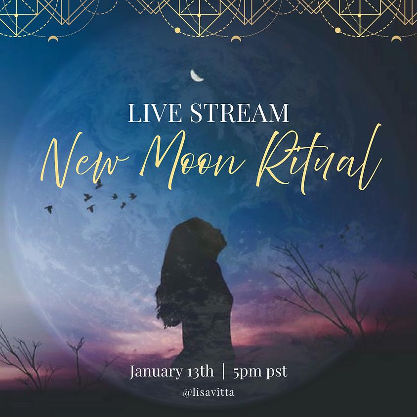 Live Stream New Moon Ritual