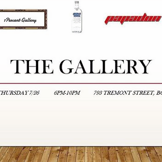 One Percent Gallery Event