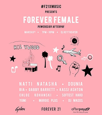 Forever 21 Presents Forever Female