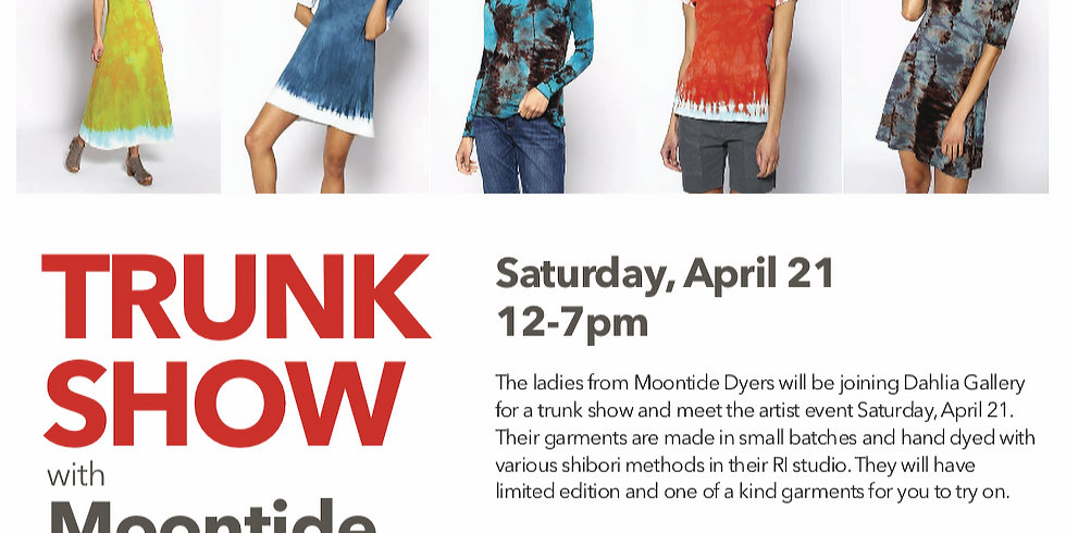 Trunk Show with Moontide Dyers