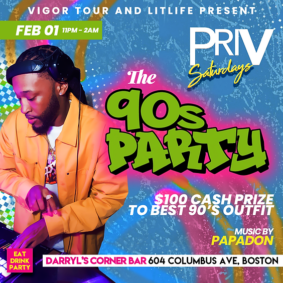Priv Saturdays: The 90s Party