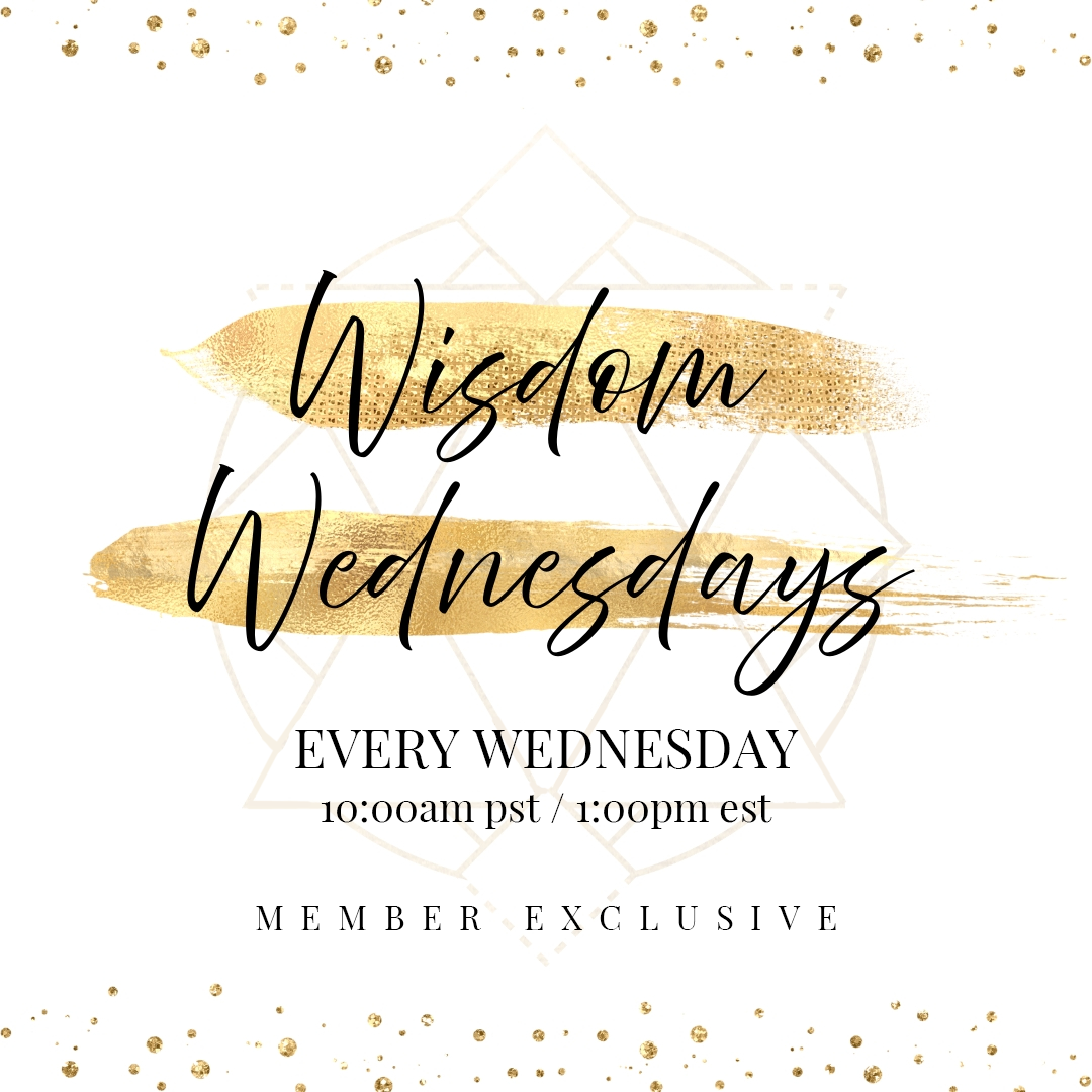 Wisdom Wednesdays with Lisa Vitta