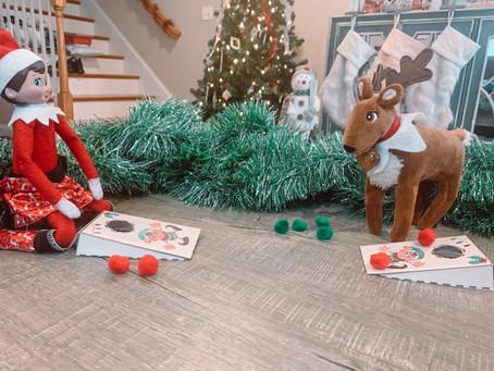 December 12th: Elf on the Shelf Cornhole Game