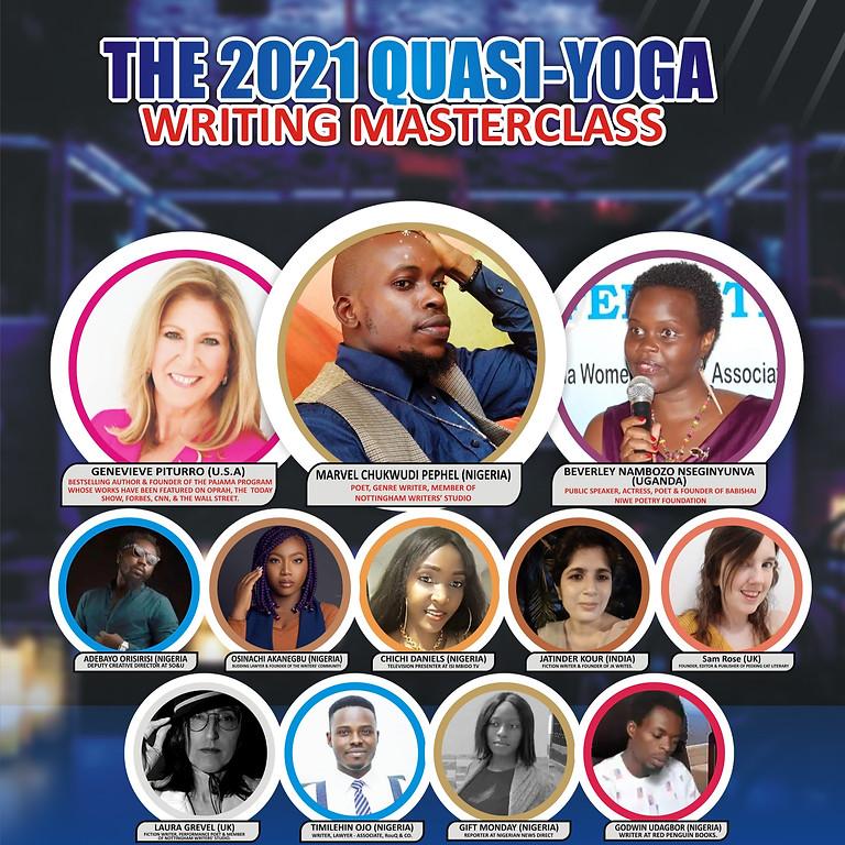 The 2021 Quasi-Yoga Writing Masterclass