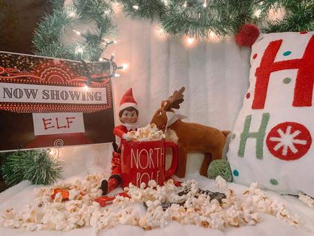 December 20th: MOVIE NIGHT! Fun Elf on the Shelf Idea