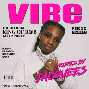 Jacquees Hosts VIBE Thursdays