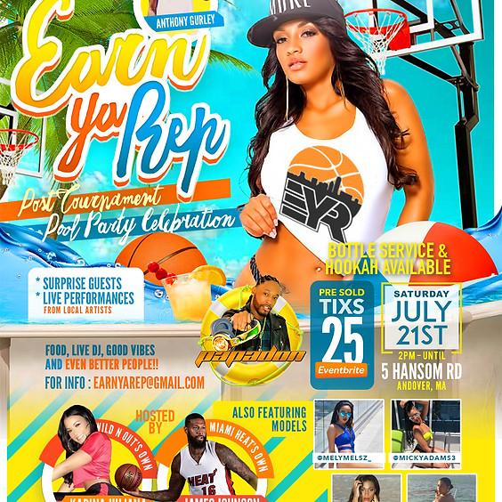 Earn Ya Rep Post Tournament Pool Party Celebration