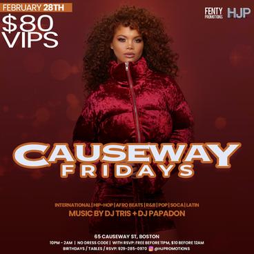 Causeway Fridays