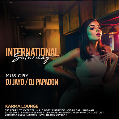 International Saturdays