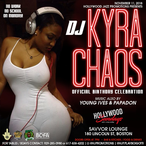 Hollywood Sundays with DJ KYRA CHAOS