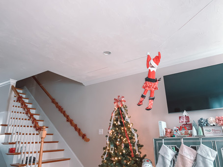 December 6th: Elf on the Shelf Zipline