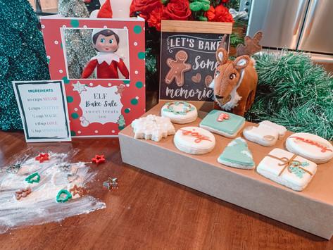 December 23rd: Elf on the Shelf BAKE SALE!