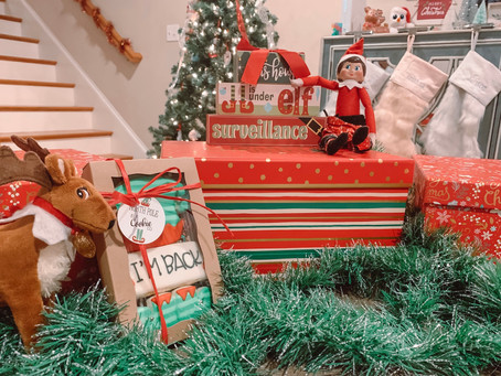 Clarissa is Here! The Return of Elf on the Shelf