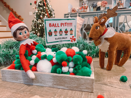 December 13th: Elf on the Shelf Ball Pit
