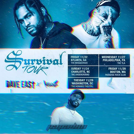 Survival Tour with Millyz & Dave East: WASHINGTON D.C.