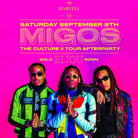 MIGOS The Culture II Tour Afterparty