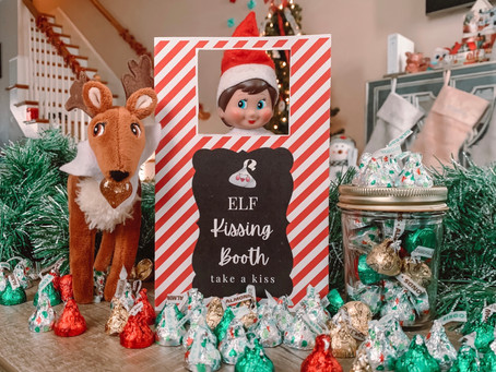 December 11th: Elf on the Shelf Kissing Booth