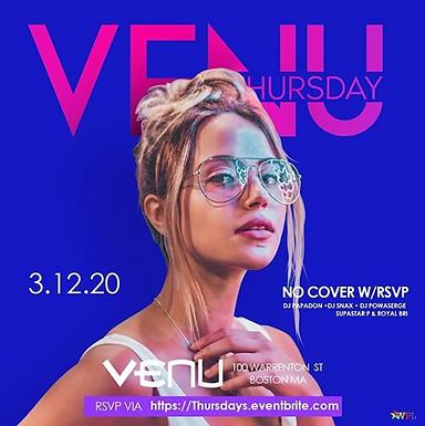 Venu Thursdays