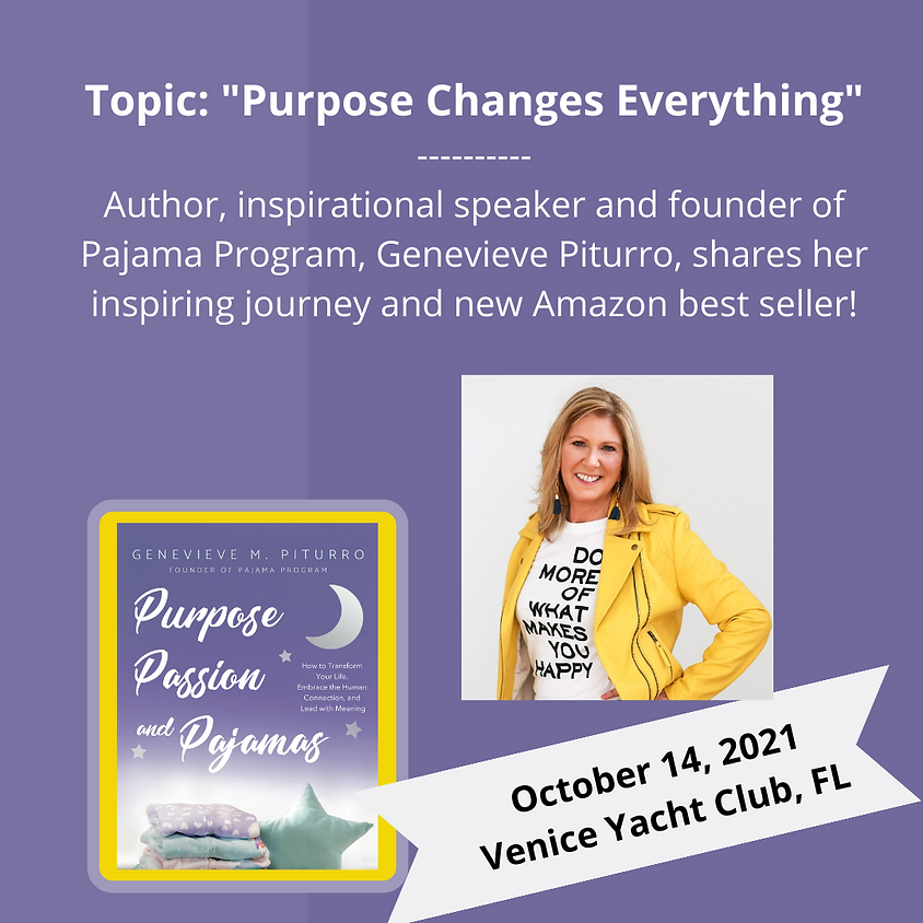 Keynote and Book Signing - Hosted by the Venice Yacht Club