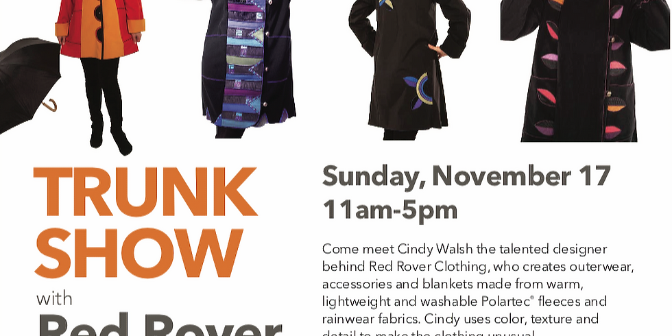 Trunk Show with Red Rover Clothing