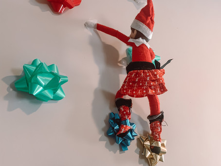 December 7th: Elf on the Shelf Bow - Rock Climbing