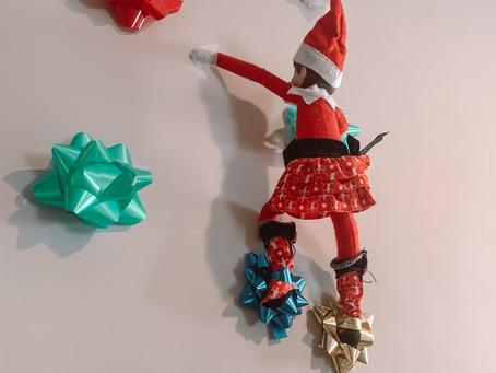 December 7th: Elf on the Shelf Bow - Rock Climbing