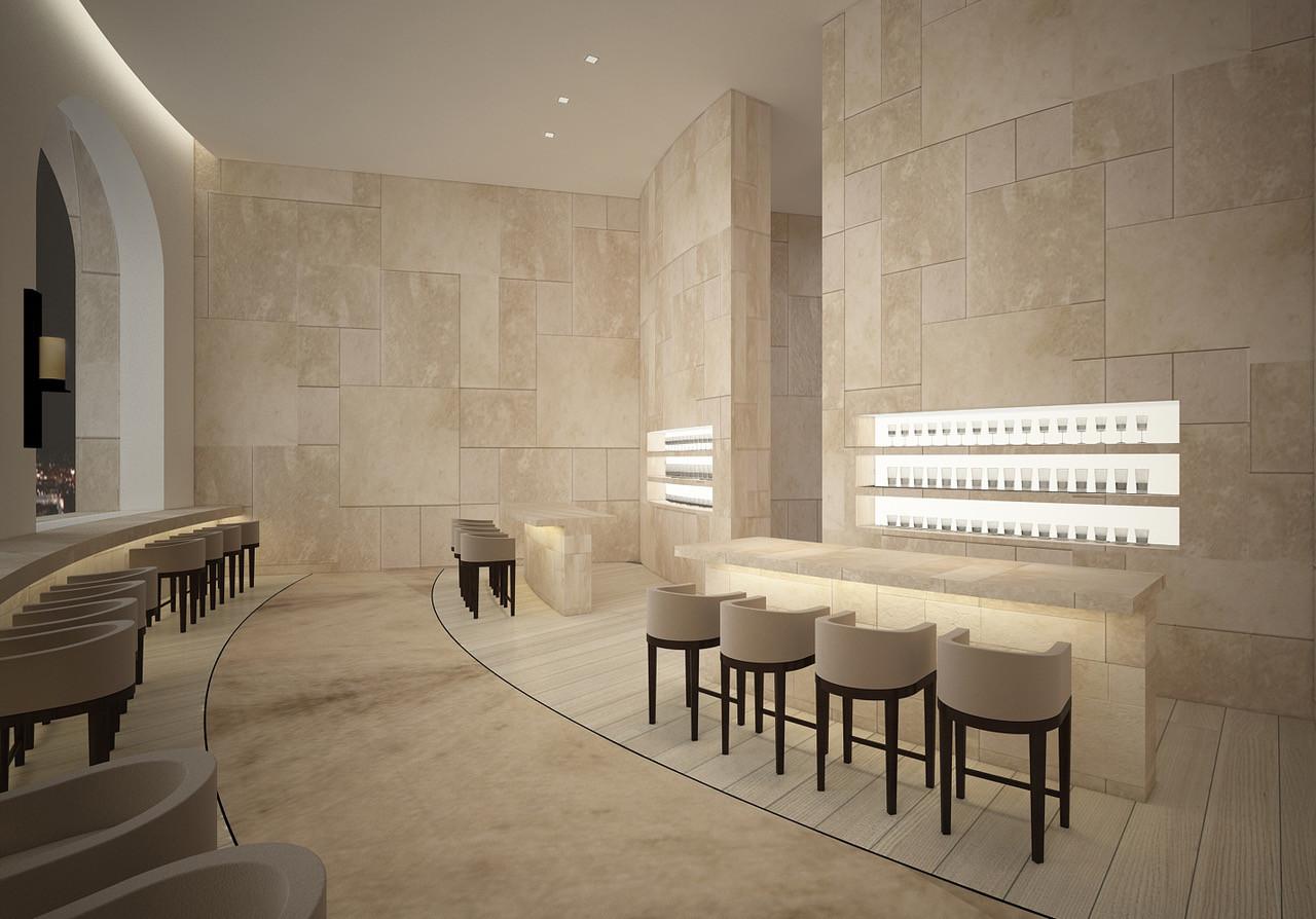 Nitzan Design | Modern, Minimal Interior Design | New York City, NY | Absalom Hotel - Jerusalem, Israel