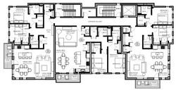 Third Floor Furniture Plan - Amber Wilhelmina Design & Interiors