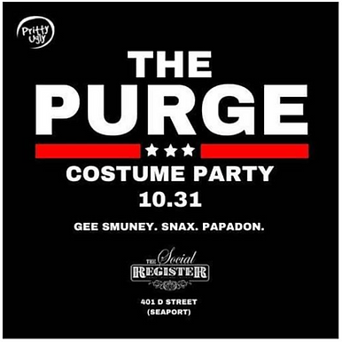 The Purge Costume Party