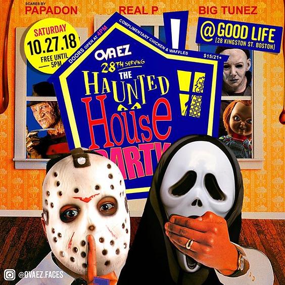 OVA-EZ: The Haunted House Party