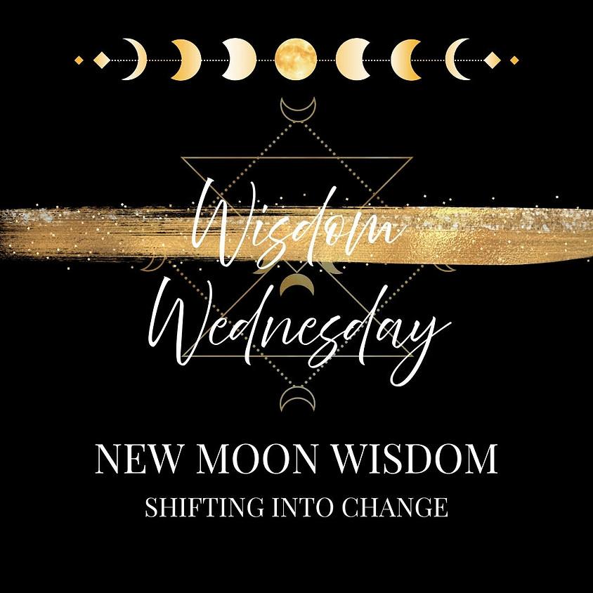 New Moon Wisdom Wednesdays ~ Online Kundalini Yoga Class