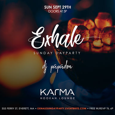 Exhale Sunday Day Party