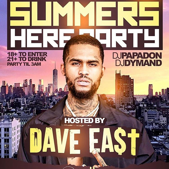Summers Here Party Hosted by DAVE EAST