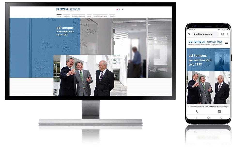 Image Website ad tempus consulting