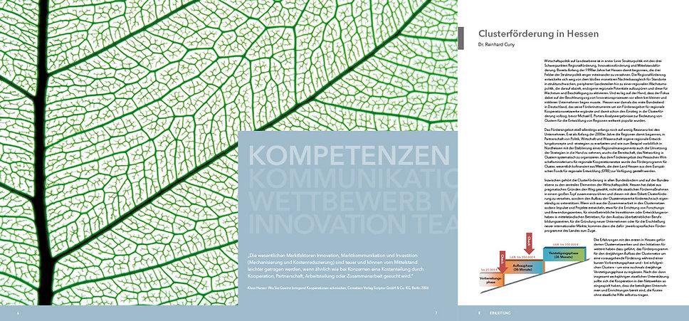 HA Hessen Agentur GmbH: Broschüre der Cluster- und Netzwerkinitiativen