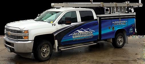 Altenburg Construction Inc. - Work Truck