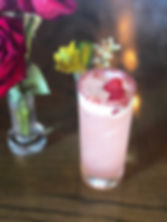Cocktail w flowers